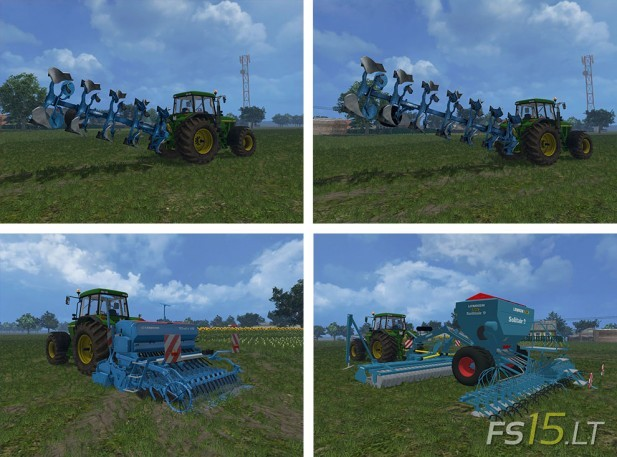 Lemken Mods Pack by vydka v 1.0-1