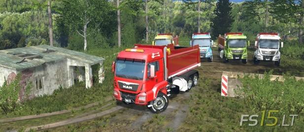 MAN Dump Truck-1