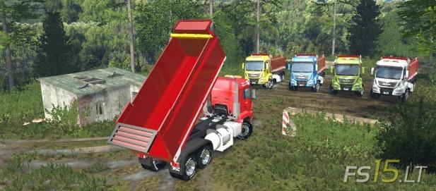 MAN Dump Truck-2