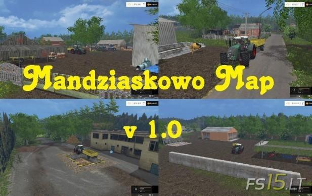 Mandziaskowo Map