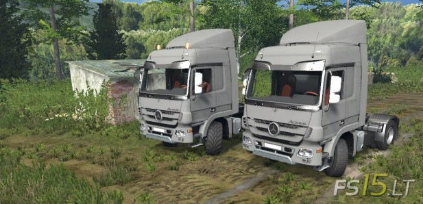 Mercedes Benz Actros MP3 1848-1