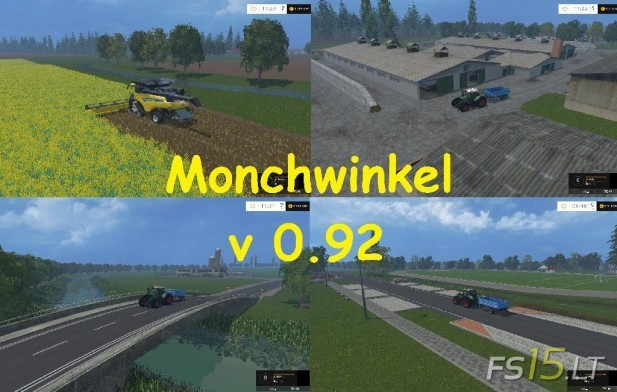 Monchwinkel Map