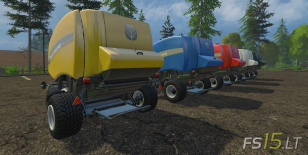 New Holland Baler Pack v 1.2 Multicolor