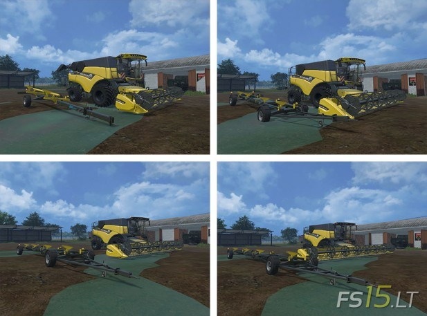 New Holland CR Pack