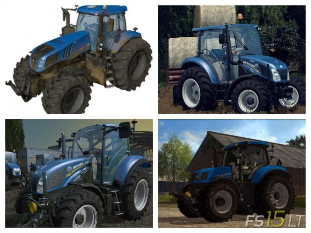 New Holland Tractors Pack-1