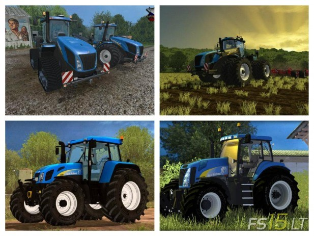 New Holland Tractors Pack-2