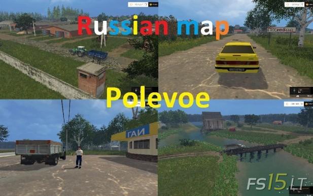 Polevoe Map