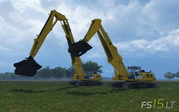 Rolo Excavator Forest Pack