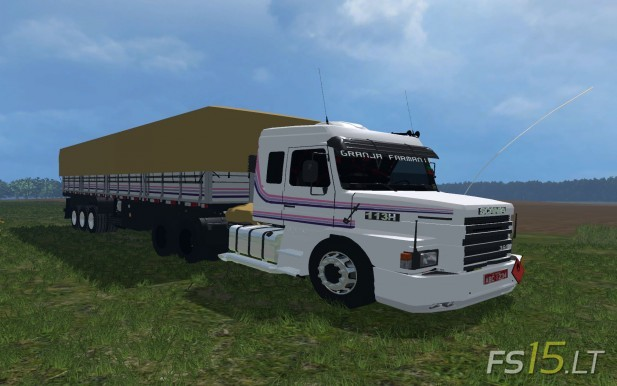 Scania 113H + Trailer