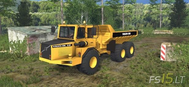Volvo Dumper A25-1