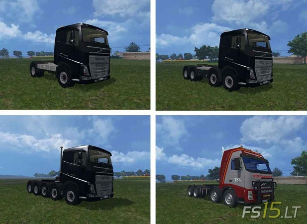 Volvo Trucks Pack by Vydka v 1.0-1