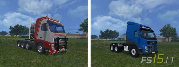 Volvo Trucks Pack by Vydka v 1.0-2