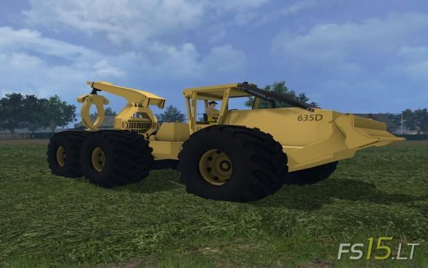 CAT 635D