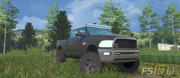 Dodge 2012 Cummins 2500-1