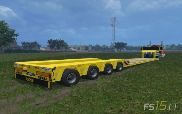Doll Special Low Loader Trailer