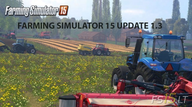 Farming Simulator 15 Update 1.3