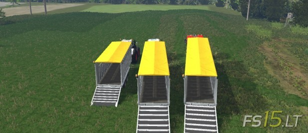 Fliegl Animal Trailers Pack-2