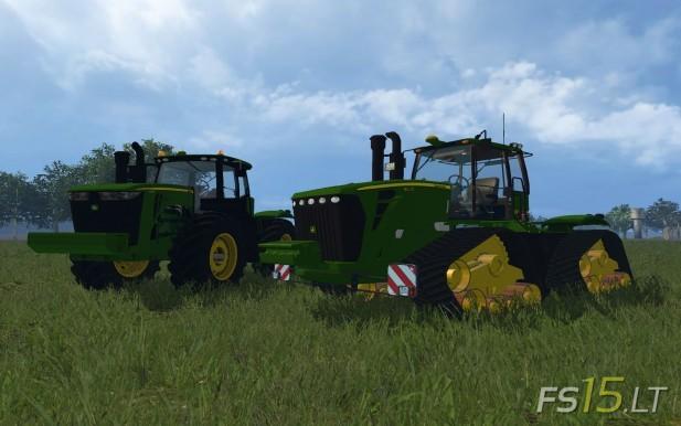 John Deere 9630 and 9560R
