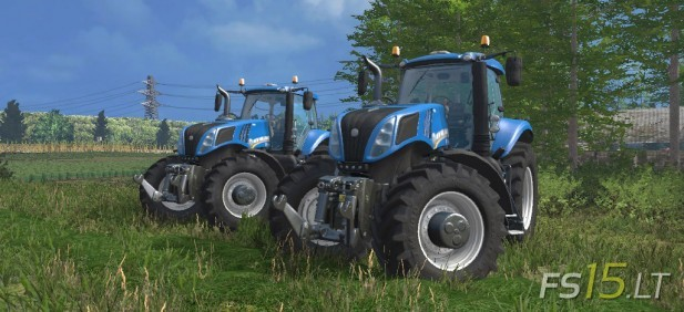 New Holland T8 Pack-1