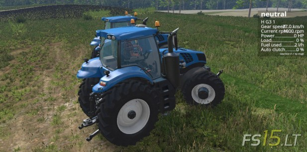 New Holland T8 Pack-2