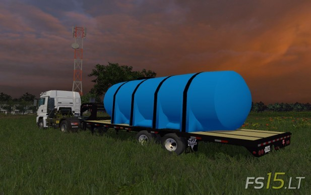PJ Fertilizer Trailer