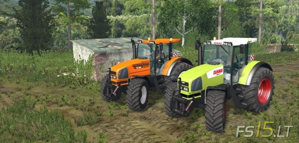 Renault Ares 735 RZ & Claas Ares 816-1