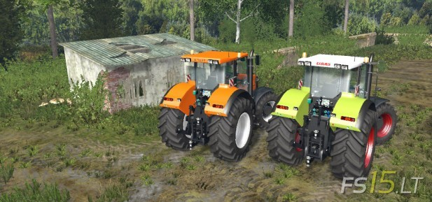 Renault Ares 735 RZ & Claas Ares 816-2