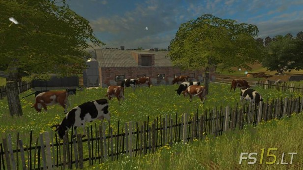 WATER FSLT Farming Simulator FS Mods Part - Farming simulator 2015 us map feed cows