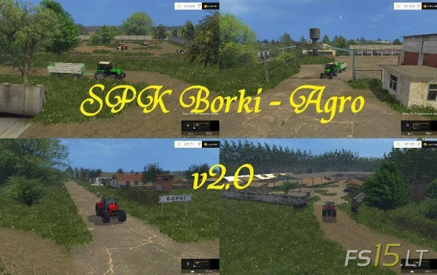 SPK Borki Agro Map