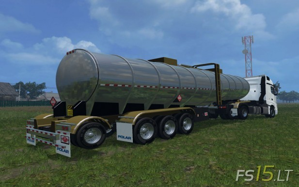 US Fertilizer Trailer