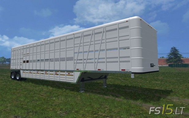 US Old Cattle Trailer