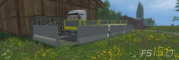 Barrier and Pontoon Pack (2)