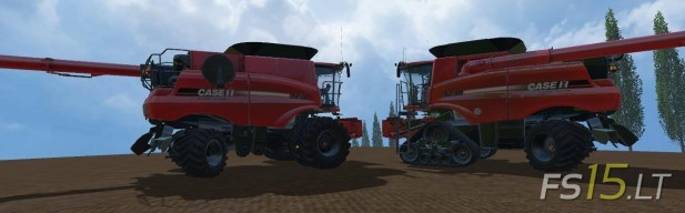 Case IH Multifruit Harvesters