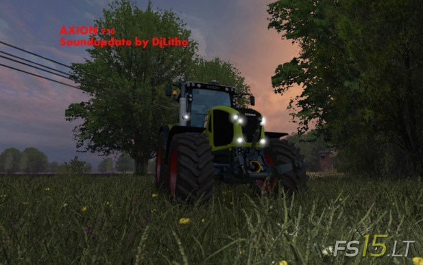 Claas Axion 950 Sound Update
