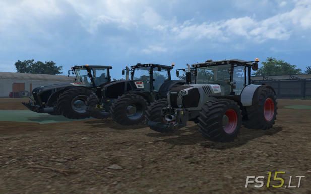 Claas Tractors Pack Black Edition