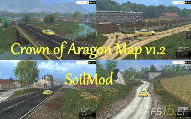 Crown of Aragon Map