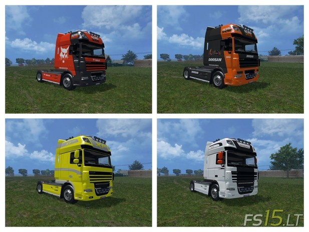 DAF XF 105 Show Pack (1)