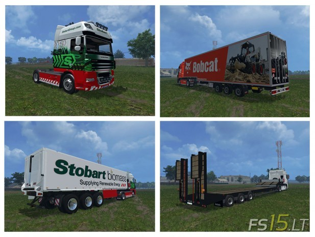 DAF XF 105 Show Pack (2)