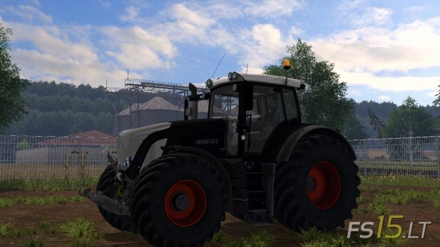 Fendt Vario 933 Black Beauty