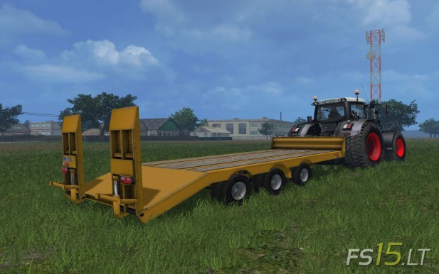 Foss Eik Low Loader Trailer