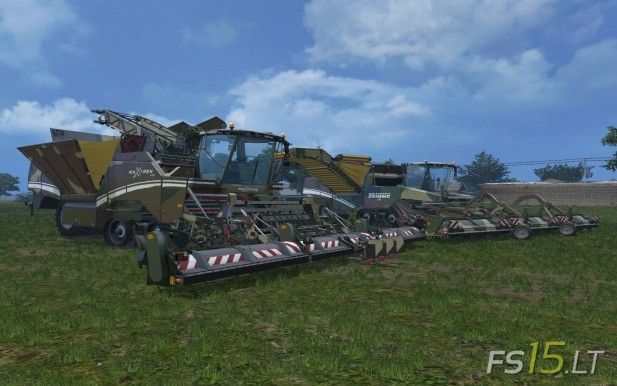 Grimme Pack Camoflage