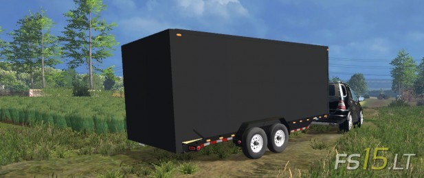 Load Trail Box Trailer (1)
