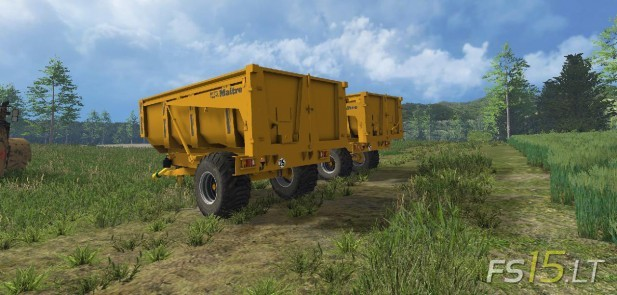 Maitre BMM Trailers Pack (2)