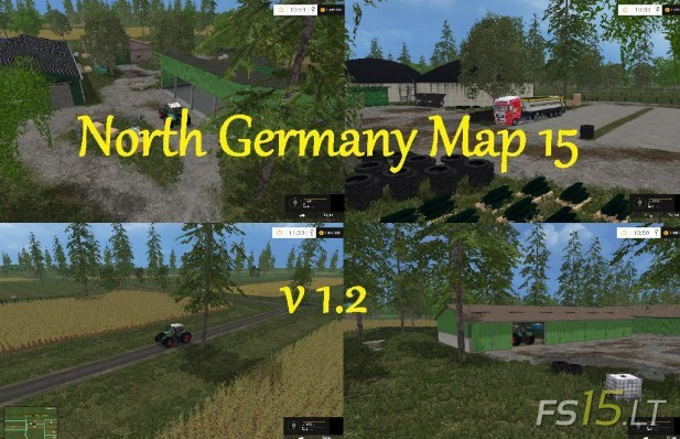 North Germany Map 15