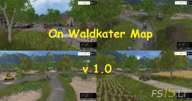 On Waldkater Map