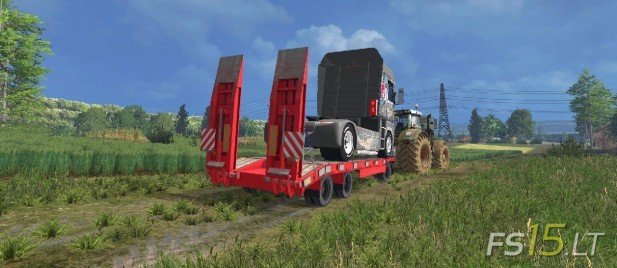 Schwarzmuller Low Loader (2)