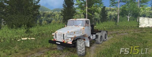 Ural 4320 Rusty (1)