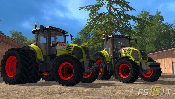 Claas Axion 850 Pack