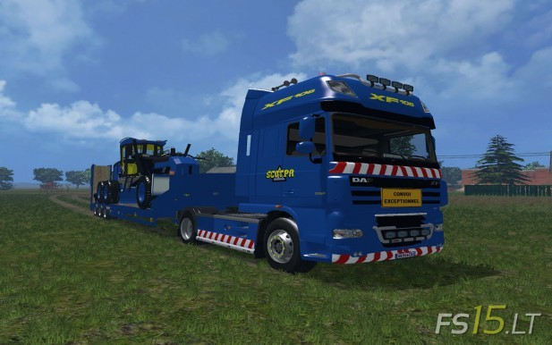 DAF XF 105 + Trailer Scotpa Edition (1)