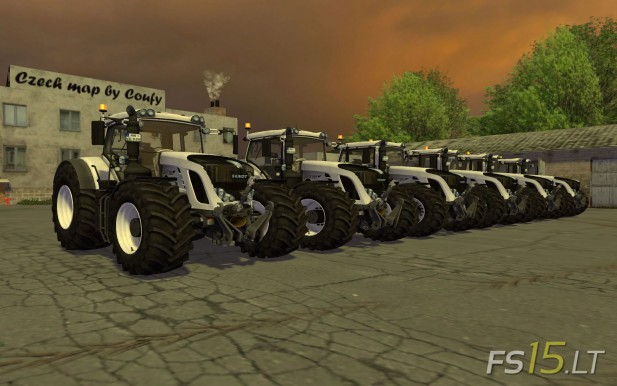 Fendt Vario White Pack
